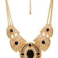 FOREVER 21 Western Redux Faux Stone Necklace
