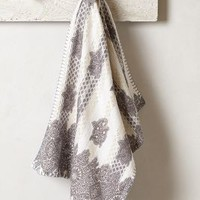 Jacquard Gleam Hand Towel by Anthropologie