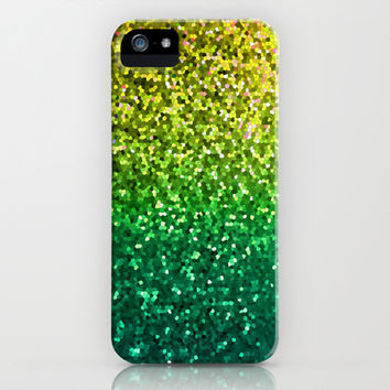 Mosaic Sparkley Texture G202 iPhone & iPod Case by MedusArt