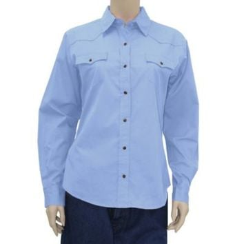 Walls® Ladies' Cotton Twill Snap Blouse - Tractor Supply Co.