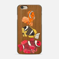 clownfish 3 transparent iPhone 6 case by Sharon Turner   Casetify