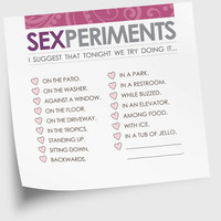 Sexy Valentine's Day Sticky Notes Gift Under 10 For by NeatThings