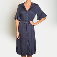 Sale Bloom Double Sash Shirtdress - Jonäno
