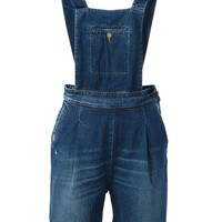 +People short overalls