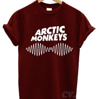 arctic monkeys t shirt soundwave am music indie rock band tour dope swag soundwave am