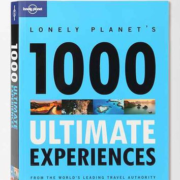 1000 Ultimate Experiences By Lonely Planet- Assorted One
