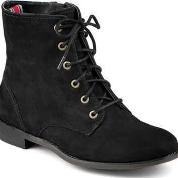 Sperry Top-Sider Adeline Boot BlackLeather, Size 5M  Women's