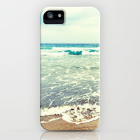 Oh, the sea, the sea... iPhone & iPod Case by Lisa Argyropoulos