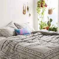 Magical Thinking Durga Comforter- Grey