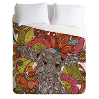 Valentina Ramos Arabella And The Flowers Duvet Cover