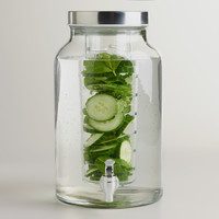 Glass Infuser Dispenser - World Market
