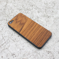 Real Teak iPhone 5/5s Wood Skin