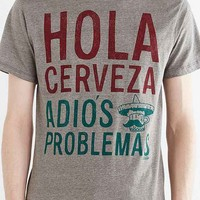 Brew City Hola Cervesa Pop-Top Tee- Grey