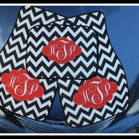Front and Back Personalized Car Mats, Monogrammed Car Mats, Custom Car Mats, Monogrammed Car Accessory, Front and Rear Car Mats