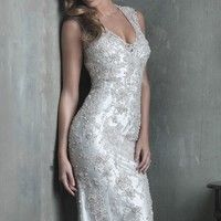 Lace Wedding Gown by Allure Bridals Couture