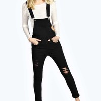 Cara Slouched Dungarees