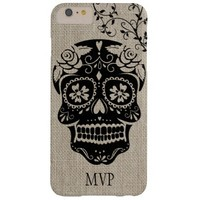 Personalized Hipster Sugar Skull