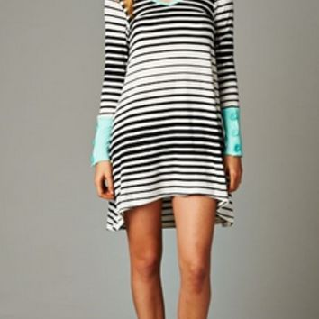 On The Line Tunic Dress