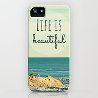 Life is Beautiful iPhone Case by RDelean   Society6