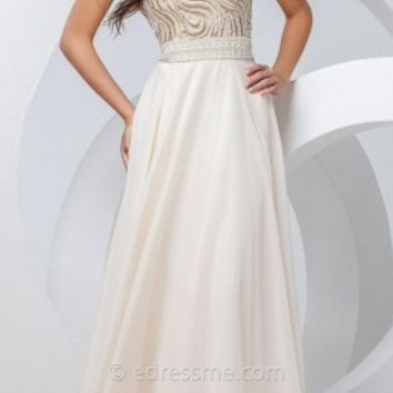 Sweetheart Swirl Prom Gown by Tony Bowls Paris
