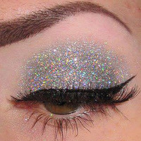 Tiara Silver Glitter by CALLACosmetics on Etsy