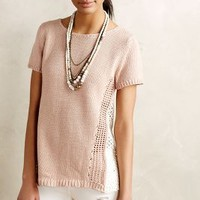 Madeira Eyelet Back Pullover by Moth