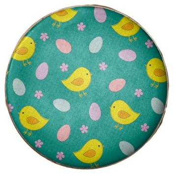 Cute Easter pattern with chickens, eggs, flowers Chocolate Covered Oreo
