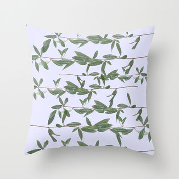bucket Throw Pillow by Austeja Saffron