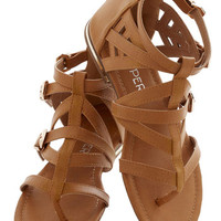 Key to Strappiness Sandal