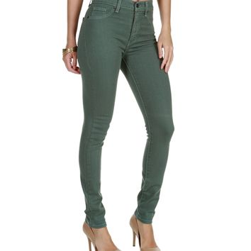 Green The Skinny Fit Jeans