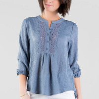 Conway Crochet Blouse