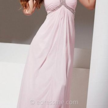 Grecian Empire Prom Gown by Tony Bowls Le Gala