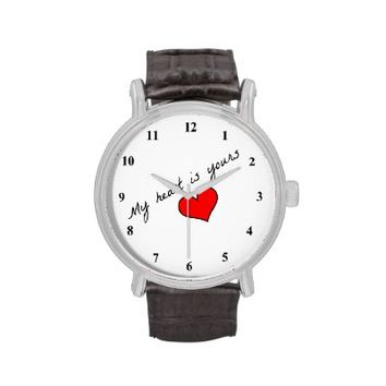 My Heart Is Yours Watch