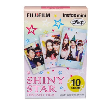 Fujifilm Instax Mini Shiny Star Instant Film (10 Pcs)