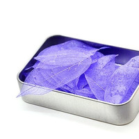B20 Leaf Soap. Hand Soap. Purple. One Time Use Soap. Travel Soap.