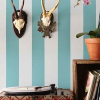 Chasing Paper Stripe Removable Wallpaper-