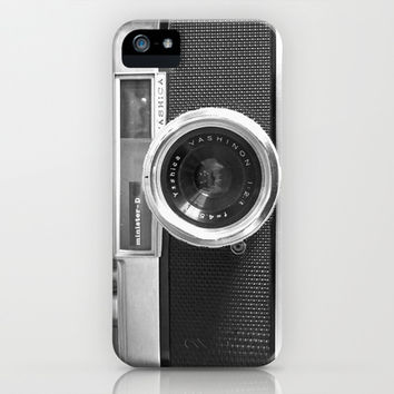 Camera iPhone & iPod Case by Nicklas Gustafsson