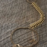 Spine Hand Jewelry - Lacey Ryan Collection - Gold