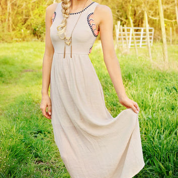 Justifiably Cute Maxi Dress