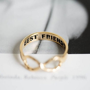 Dainty Infinity Rings | Set of Two Friendship Rings