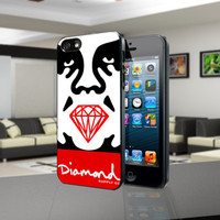 Obey Diamond Maount - for iPhone 4/4s/5, Samsung S3/S4 case cover