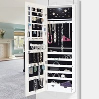 New View Jewelry Cabinet with LED Light