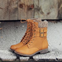 The Montana Sweater Boots