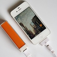 Portable USB Cell Phone Lipstick Charger External Battery iPhone Samsung PSP HTC