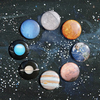 """1"""" planet buttons"""