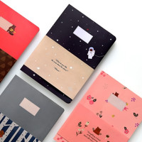 Large Toffeenut Lined Notebook