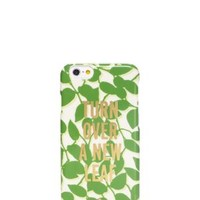 Kate Spade Turn Over A New Leaf Resin Iphone 6 Case